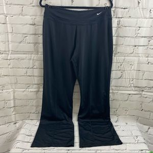 Nike performance wide leg athletic pants